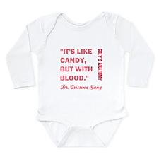 IT'S LIKE CANDY Long Sleeve Infant Bodysuit