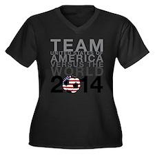 Team USA Plus Size T-Shirt