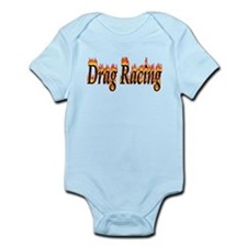 Drag Racing Flame Body Suit