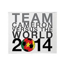 Team Cameron Throw Blanket