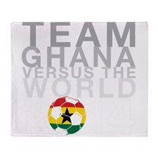 Team Ghana Throw Blanket