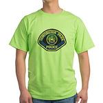 Huntington Park Police Green T-Shirt