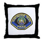 Huntington Park Police Throw Pillow