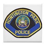 Huntington Park Police Tile Coaster