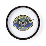 Huntington Park Police Wall Clock