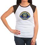 Huntington Park Police Women's Cap Sleeve T-Shirt