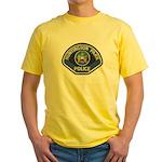 Huntington Park Police Yellow T-Shirt