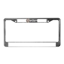 Cute Navy dad License Plate Frame