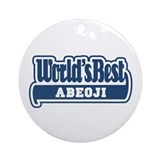WB Dad [Korean] Ornament (Round)