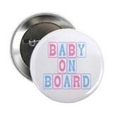 Baby On Board (blocks) Button