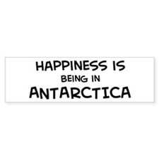 happy__ANTARCTICA_A Bumper Bumper Sticker