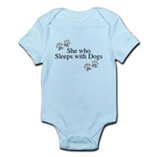 she who sleeps with dogs Body Suit