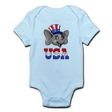Republican Elephant Onesie
