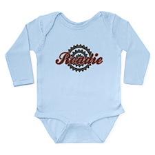 Bicycle Bike Roadie Long Sleeve Infant Bodysuit