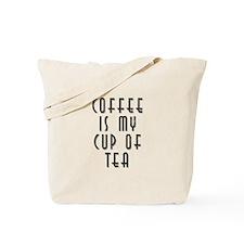 Funny My cup tea Tote Bag