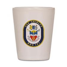 DDG 101 USS Gridley Shot Glass