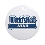 WB Dad [Indonesian] Ornament (Round)