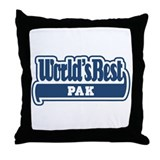 WB Dad [Indonesian] Throw Pillow