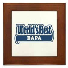 WB Dad [Indonesian] Framed Tile