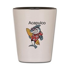Acapulco, Mexico Shot Glass