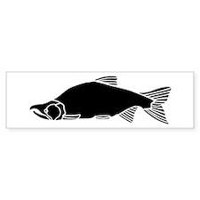 Sockeye Salmon Drawing (bumper) Bumper Bumper Sticker