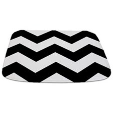 Black And White Chevron Bathmat