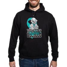Tourette's Syndrome Bulldog Pup Hoodie