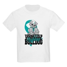 Tourette's Syndrome Bulldog Pup T-Shirt