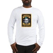 Cute Skull crossbones Long Sleeve T-Shirt