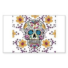 Unique Sugar skulls Decal