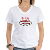Las Vegas Bride Deep Red Shirt