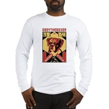 Boxer Rebellion! Long Sleeve T-Shirt
