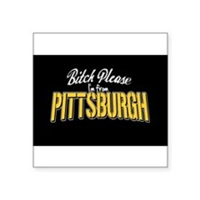 "Cool Pittsburgh penguins Square Sticker 3"" x 3"""