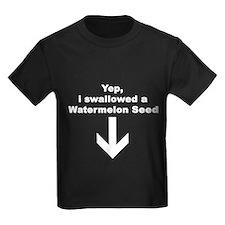 I SWALLOWED A WATERMELON T
