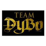 Team DyBo Sticker (Rectangle)