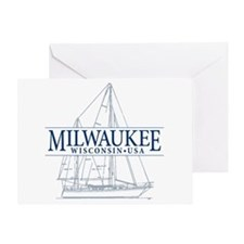 Milwaukee - Greeting Card