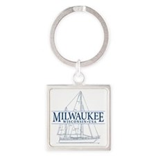 Milwaukee - Square Keychain
