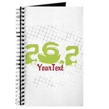 CUSTOMIZE Festive 26.2 Marathon Journal