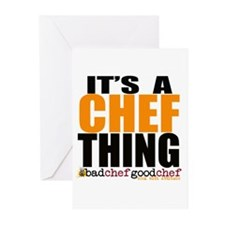 Its A Chef Thing Greeting Cards