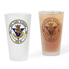 USS Carl Vinson CVN-70 Drinking Glass