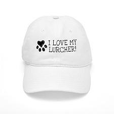 Unique Lurcher dog Baseball Cap