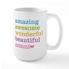 Nonni - Amazing Awesome Large Mug