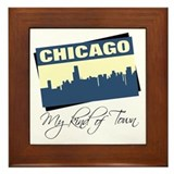Chicago - My Kind of Town Framed Tile