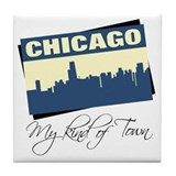 Chicago - My Kind of Town Tile Coaster