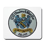 USS THEODORE E. CHANDLER Mousepad