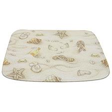 Vintage Summer Beach Pattern Bathmat
