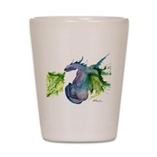 Wildfire Water Dragon Shot Glass