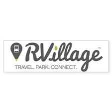 Rvillage Logo Bumper Bumper Sticker