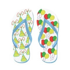 Birthday Party Flip Flops