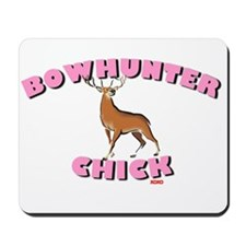 Bowhunter Chick Mousepad